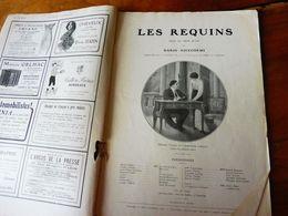 éd. Origine 1913 Pièce En 3 Actes LES REQUINS ,par Dario Niccodemi ;Historique On Change La Statue De La Colonne Vendome - Theatre