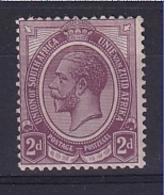 South Africa: 1913/24   KGV    SG6a    2d    Deep Purple     MH - Neufs