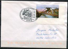 """Germany 2001 Heimatbeleg/Cover 40212 Düsseldorf Mit Mi.Nr.2171 Und SST""""Düsseldorf-Briefmarken Festival Wuppertal""""1 Beleg - [7] Federal Republic"""