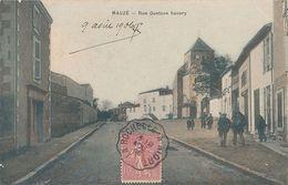 MAUZE - RUE GUSTAVE SAVARY - Mauze Sur Le Mignon