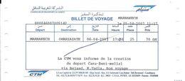 Marokko: CTM Marrakech - Quarzazate - Wereld