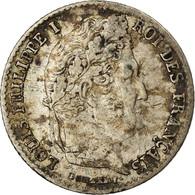 Monnaie, France, Louis-Philippe, 1/4 Franc, 1834, Paris, TTB, Argent - France