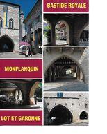 47 MONFLANQUIN Cpm Multivues - Monflanquin