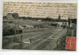 83 TOULON Carte RARE Le Pont De Cklaret Train Voies Chemin De Fer Locomotive 1907 écrite Edit Imbert  D14 2020 - Toulon