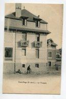 62 LE TOUQUET PARIS PLAGE  Cycliste Devant Grande Villa  - 1910  D14 2020 - Le Touquet