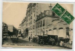 75 PARIS XVIII Rue Jouffroy Bureau Des Postes Automobiles  Postales No 1734 Bis Edit F.F   - écrite  D14 2020 - Arrondissement: 18
