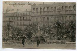 83 TOULON Place De La Liberté Sous La Neige 24 Février 1909 Un Evenement Presque Inconu  D14 2020 - Toulon