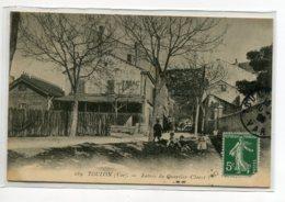 83 TOULON  Entrée  Quartier Claret Groupe Enfants Jeux  Rue Commerce Tabac  écrite 1909 Timbrée   D14 2020 - Toulon
