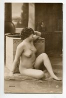 NU French Charm 075 Jean  AGELOU JA Série 64 Jeune Femme Nue Orientalisme  Assise Jambe Relevée Salle Bain - EROTISME - Fine Nudes (adults < 1960)