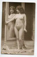 NU French Charm 088 Edit VB Série 177 Jeune Femme Nue Au Miroir Admira,t Son Reflet   - EROTISME - Fine Nudes (adults < 1960)