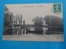 18 ) Dun-sur-auron - N° 512 - Bassin Du Canal   Année 1911 EDIT : TH.G - Dun-sur-Auron