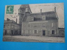 18 ) Dun-sur-auron - N° 1314 - La Mairie   Année 1922 : EDIT : Cochet - Dun-sur-Auron