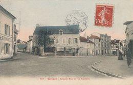VERNEUIL - N° 6250 - GRANDE RUE ET RUE CLAIRETTE - Verneuil Sur Seine
