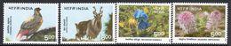 India 1996 Himalayan Ecology Set Of 4, MNH, SG 1664/7 (D) - Neufs