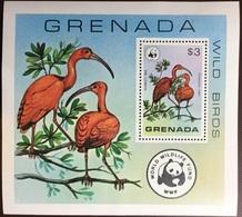 Grenada 1978 Wild Birds Minisheet MNH - Birds