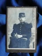 Photo CDV Camille Arnoux à Amiens -portrait Militaire Du 72e D'infanteries Après 1900 L509 - Ancianas (antes De 1900)