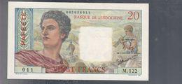 Tahiti 20 Francs 1954 Papeete KM #21b Lotto 2576 - Vietnam