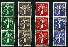 Suiza Nº 329/40. Año 1939 - Suiza