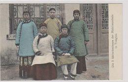Berliner-Mission - Tsingtau - Die 5 Abiturientinnen Der Mächenschule       (A-232-200207) - Missionen