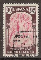 España U 0908 (o) Virgen Del Pilar. 1940 - 1931-Today: 2nd Rep - ... Juan Carlos I