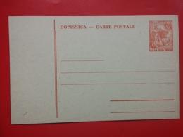 KOV 704-1 - POSTCARD, CARTE POSTALE, YUGOSLAVIA, BLANK, BLANC - Covers & Documents