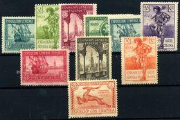 España Nº 434/41, 443, 447. Año 1929 - 1889-1931 Royaume: Alphonse XIII