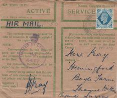 GB 1943 CENSORED COVER - Egypt