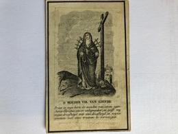 Van Eesbeeck Petrus Echtg Van Wilder Petronilla *1778 Denderwindeke Ninove +1848 Appelterre-Eichem Druk Geraardsbergen D - Overlijden