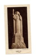 Image Pieuse Croyance Religion Christ Roi Serraz Saint Pierre D Auxerre 1949 Priere Berthier Pretre - Santini