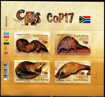 South Africa 2016. Fauna. Reptiles   MNH - Unused Stamps