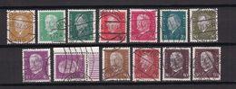 Deutsches Reich - 1928 - Michel Nr. 410/415 + 417/418 + 420/422 - Gestempelt - 41 Euro - Oblitérés