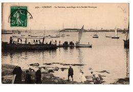 LORIENT LA PERRIERE MOULLAGE DE LA SOCIETE NAUTIQUE ANIMEE - Lorient
