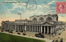 Pensylvania Station New York City + Timbre 2 Cents RV - Trasporti