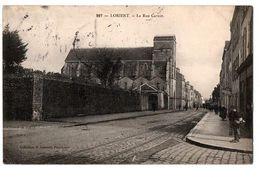 LORIENT LA RUE CARNOT  ANIMEE - Lorient