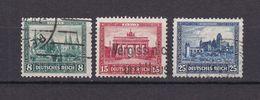 Deutsches Reich - 1930 - Michel Nr. 450/452 - Gestempelt - 35 Euro - Oblitérés