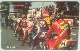 21 Units Isle Of Man TT Festival, Road Racing - Man (Ile De)
