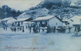 BOBONARO - Timor Português - Trecho Da Povoação De Bobonaro-(Povoação Comercial)( Ed. Da Missão Nº 051292) Carte Postale - Timor Oriental