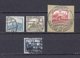 Deutsches Reich - 1932 - Michel Nr. 474/477 - Gestempelt - 31 Euro - Oblitérés