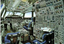 CONCORDE Carte Poste De Pilotage - Aviation Commerciale