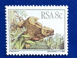 ANIMALI PREISTORICI / PREHISTORIC ANIMALS - ANNO/YEAR 1982 - África Del Sur (1961-...)