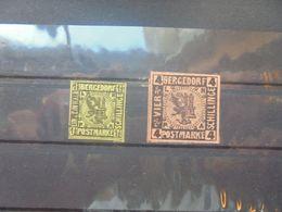 BERGEDORF 1861 COTE PHILEX :60 EURO START A 5%. - Bergedorf