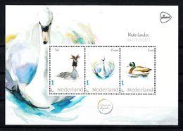 Nederland 2020 Persoonlijke Zegel PostNL. Watervogels, Bird,  Fuut, Zwaan, Eend, Grebe, Swan, Duck - Neufs