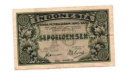 INDONESIE 10 SEN 1.12.1947 - Indonesië