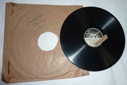 Disque GRAMOPHONE Idéal (petit Diamètre 20 Cm) - 78 Rpm - Schellackplatten
