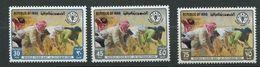 Iraq**  N° 1085 à 1087  Contre La Faim - Against Starve
