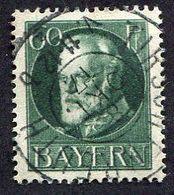 Allemagne, état Allemand, Bavière N°102 Oblitéré ; Bayern Michel N°102 ; Qualité Exceptionnelle - Bavière
