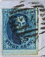 11a - Stempel N° 24 Bruxelles - 1858-1862 Médaillons (9/12)