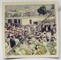 Riez 04 Alpes De Haute Provence Inauguration Du Boulevard De Narvik 1962 Cérémonie Foule Photo Originale - Lieux