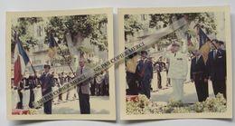 Riez 04 Alpes De Haute Provence Le Maire Prefet Inauguration Du Boulevard De Narvik 1962 Cérémonie Photo X2 - Lieux