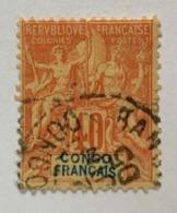 1892 Congo Y Et T 21 O - Gebruikt
